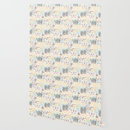 Lady's Slipper Wallpaper