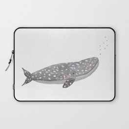 Just a happy whale Laptop Sleeve