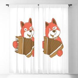 ACCORDION DOG Blackout Curtain
