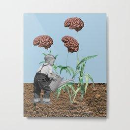 Nature vs. Nurture Metal Print