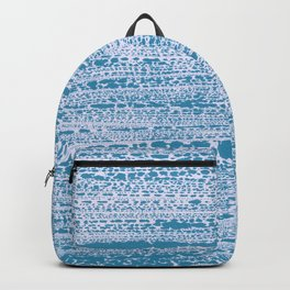 Blue Water Aqua Splash Beading Bouy Backpack