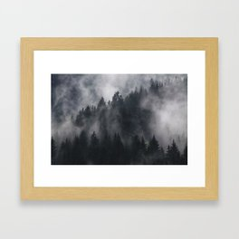 Mistic Forest Framed Art Print