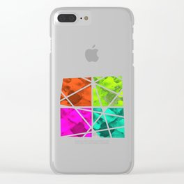 Pieces of Fish Clear iPhone Case