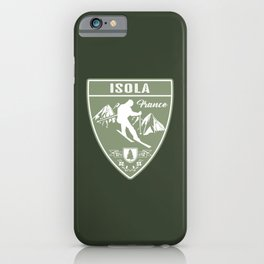 Isola France iPhone Case