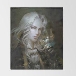 Alucard. Castlevania Symphony of the Night Throw Blanket