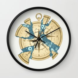 Beneath the Ripples of Existence (There's a Journey Called Life) Wall Clock