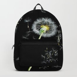 Blowing in the Wind Dandelion, Scanography Backpack