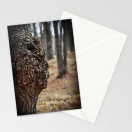 Face in Tree ~ What You See  Stationery Cards