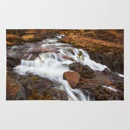 Scottish Falls. Rug