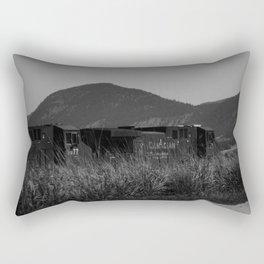 Canadian Train Rectangular Pillow
