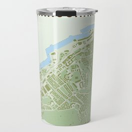 Map of the people's republic of Majorna Travel Mug