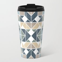 Patchwork inspider pattern 1 Travel Mug