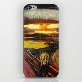 Scream iPhone Skin