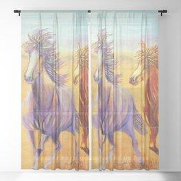 Free Spirits | Esprits Libres Sheer Curtain