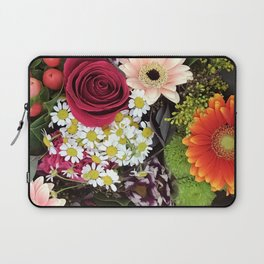 Happy and Bright Floral Bouquet of Joy Laptop Sleeve