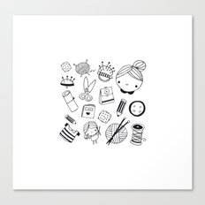 Handmade with love! Canvas Print