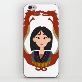 Mulan Bust iPhone Skin