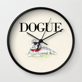 Dogue Wall Clock