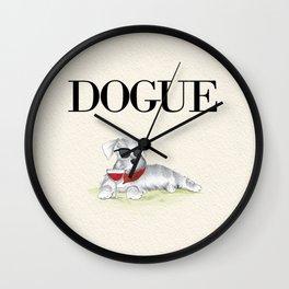 Dogue Wall Clock