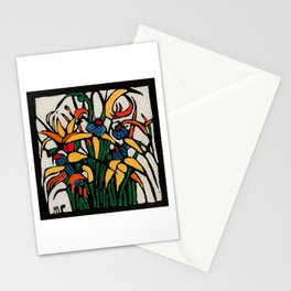 """Christmas Bulbs"" by Australian Artist Margaret Preston Stationery Cards"