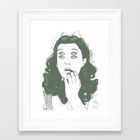 dorothy Framed Art Prints featuring Dorothy by Prints_by_Gabriel