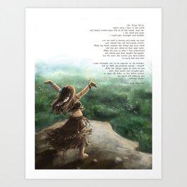 Great Spirit Prayer Art Print