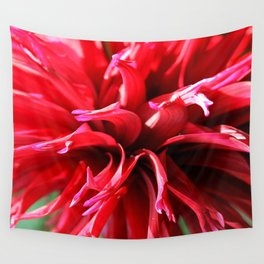 Crimson Red Wall Tapestry