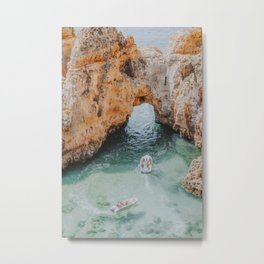 boat life iii / lagos, portugal Metal Print