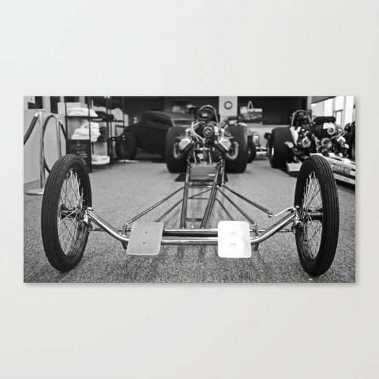 Dragster Canvas Print
