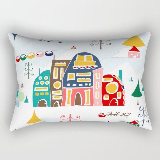 Alpine Chalet Rectangular Pillow