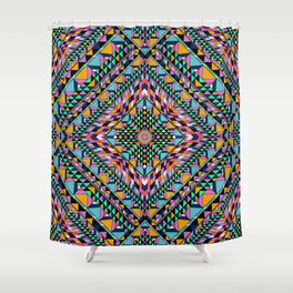 Triangle Takeover Shower Curtain