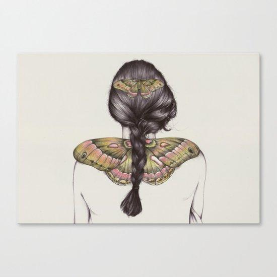 Hair IV Canvas Print