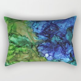 Mining for Gold by the River's Edge by Studio 1153 Rectangular Pillow