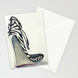 Zebra Wedges Stationery Cards