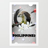 philippines Art Prints featuring PHILIPPINES by kaysedilla