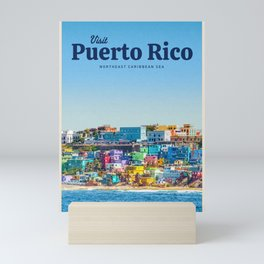 Visit Puerto Rico Mini Art Print