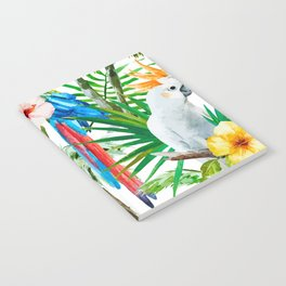 Tropical birds Notebook