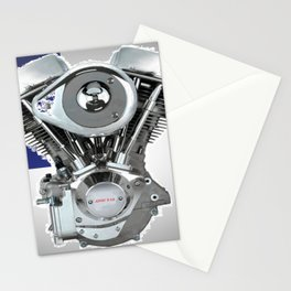 Bikers Christians 2 Stationery Cards