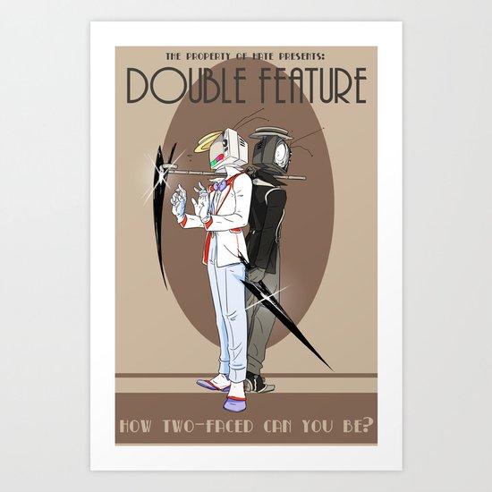 TPoH: Double Feature Art Print
