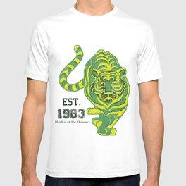 Battlecat - HeMan, 80's, Cartoon, Throw Back, Green Tiger T-shirt