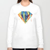 diamond Long Sleeve T-shirts featuring Diamond by By Nordic