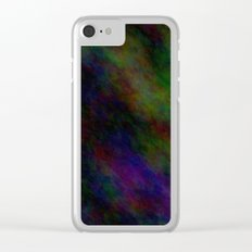 Black Color Clear iPhone Case