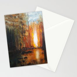 There's Fire Stationery Cards