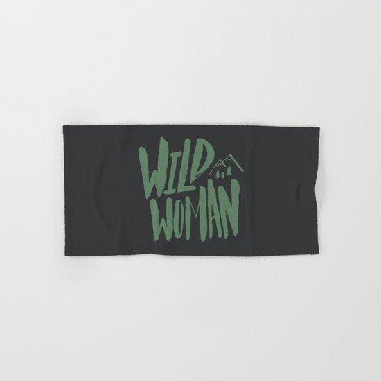 Wild Woman Hand & Bath Towel