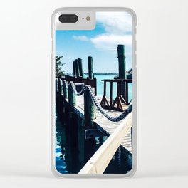 Decking Clear iPhone Case