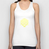 hexagon Tank Tops featuring Hexagon by henrymade