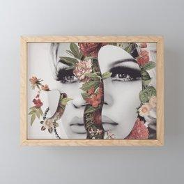 The Mind Is A Garden Framed Mini Art Print