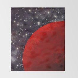 Mars In The Stars Throw Blanket