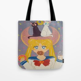 Hungry magical girl Tote Bag