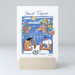 Saint Tropez Mini Art Print